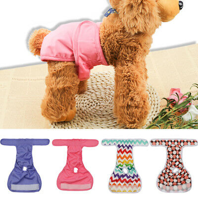 Pet's Dog Physiological Pants Diaper Panties Underwear for Female Dog Washable