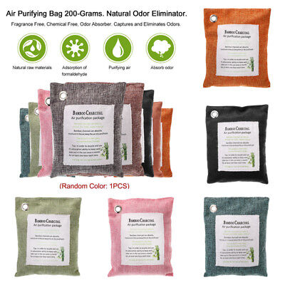 Charcoal Carbon Freshener Air Purifying Bags Natural Activated Bamboo Fresh Air