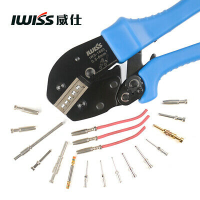 IWISS IWS-1860 Crimping Pliers for Heavy Duty Connector Cold Press Pliers