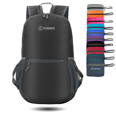 1dcce33da006 Ultra Lightweight Packable Backpack Water Resistant Hiking Small Travel  Dayback