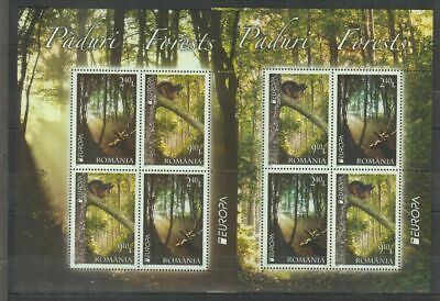 V613. Romania - MNH - Nature - Animals - Forests