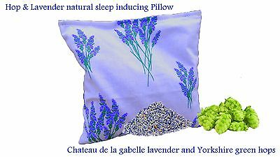 Hop & Lavender sleep inducing Pillow. Help you relax and induce natural sleep
