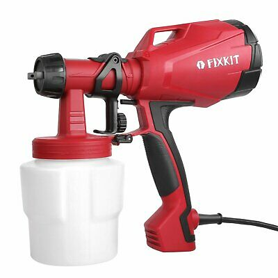 Electric Spray Gun Paint Sprayer Painter 1000ml Handheld Painting Tool House New