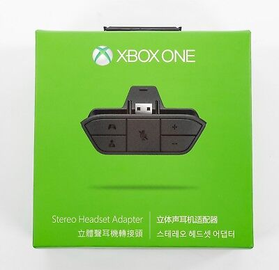 XBOX One Stereo Headset Adapter Genuine Official Microsoft XB1 - Used