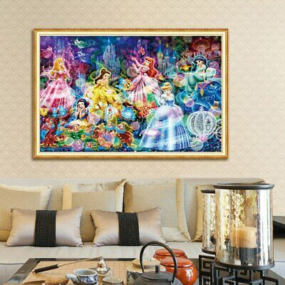 Fairy Tales Disney Princess 5D Full Diamond Painting Embroidery Cross Stitch BO