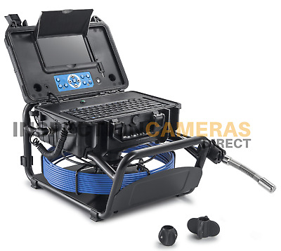 Drain and Duct Inspection Camera with Built-in On Screen Meterage & Keyboard