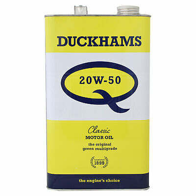 Duckhams Classic Q 20w-50 Engine Oil - 1 Imperial Gallon (4.5 Litres)