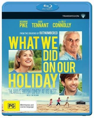 What We Did On Our Holiday Blu-Ray : NEW