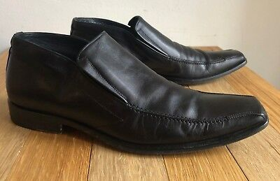 Rossi Shoes Scarpe Nere Uomo Pelle N. 40 Made In Italy