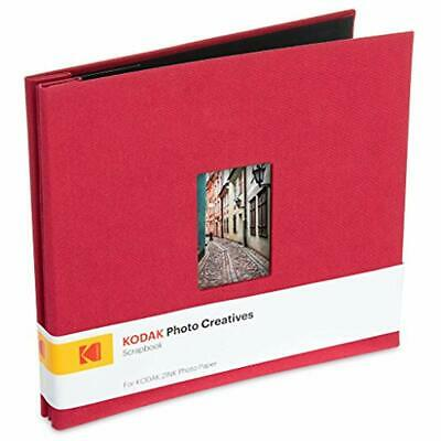 Kodak 8x8 Cloth Covered Scrapbook Photo Album (Red)