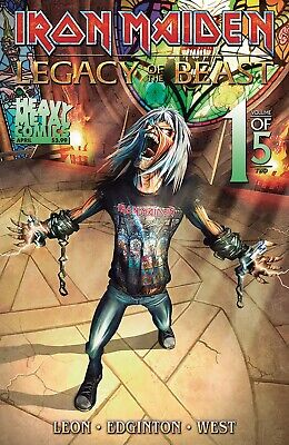 Iron Maiden Legacy of the Beast Vol 2 #1 Cover A PREORDER - SHIPS 24/04/19