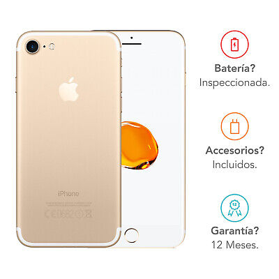 Apple iPhone 7 / 128GB / Oro / Libre