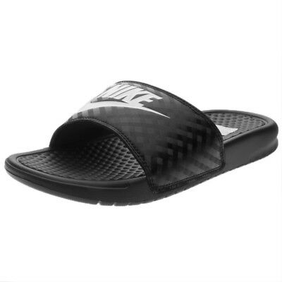 21f147b3a7 SCARPE NIKE BENASSI Just Do It Taglia 38.5 343880-090 Nero - EUR 27 ...
