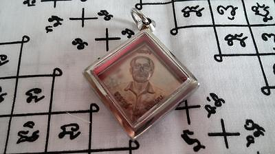 Holy Er Gor Fong Copper Amulet By AJ Meng Special For Gambling-Year 2555