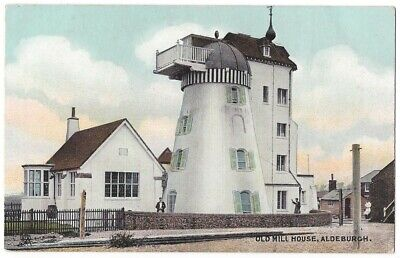 ALDEBURGH Old Mill House, Suffolk, Old Postcard by Tuck, Unused