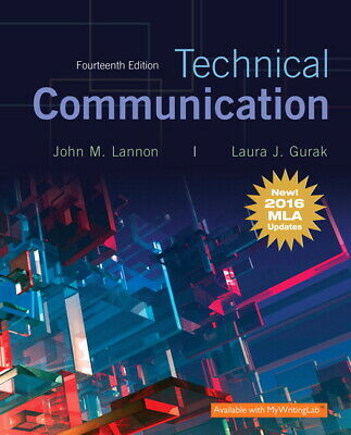 Technical Communication 14th Edition, MLA Update (eBooᴋs, 2016)
