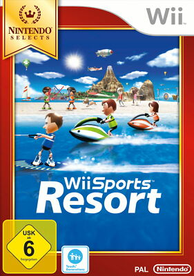 Wii Sports Resort -- Nintendo Selects (Nintendo Wii, 2013, DVD-Box)