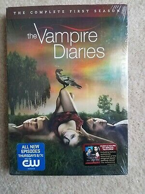 The Vampire Diaries: The Complete First 1 Season - DVD 5-Disc Set NEW & SEALED