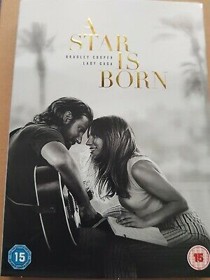 A Star is Born  [2018] (DVD) Brand New and Sealed - Free Postage