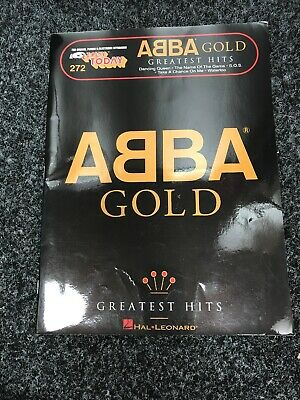 Abba Gold Greatest Hits Book