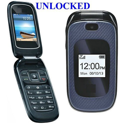UNLOCKED SAMSUNG SGH-T249R SLIDER CELL PHONE MOBILE GSM FIDO ROGERS