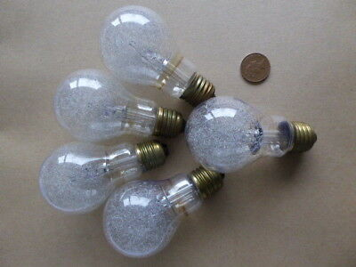 5 x Phillips PF 100 Clear Large Edison Screw flashbulbs suitable for Caving etc