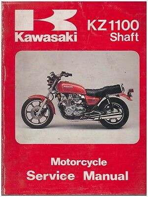 Service Manual Kawasaki KZ1100 Shaft 1981 1982 (US and Canadian Models)
