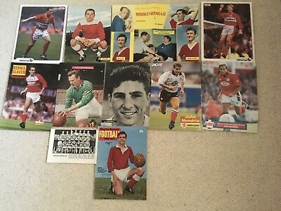 Football Magazine Team Group & Player Posters Middlesbrough