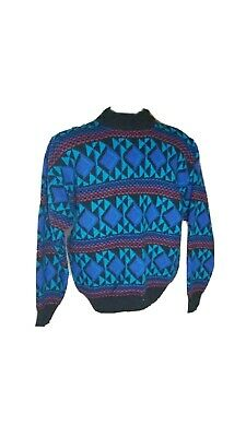 702363f61dd9b VINTAGE 90S COOGI Style Sweater Towncraft Mens Size Large Vertical ...