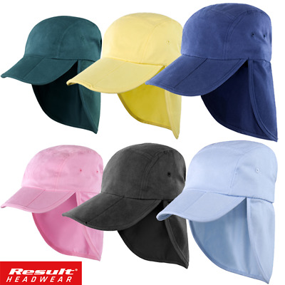 Result LEGIONNAIRE HAT CAP SUN PROTECTION NECK FLAP EAR COVER LONG HAT FOLD UP