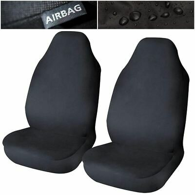 Waterproof Airbag Compatible Front Seat Covers x2 for Renault Zoe