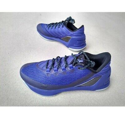 purchase cheap 57358 feb20 New Under Armour Curry 3 Low Dark Horse Basketball J Mens 8 Shoes  1285455-540