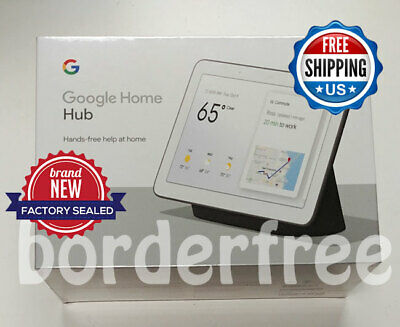 Google Home Hub with Google Assistant - Charcoal ✔ FREE INTERNATIONAL SHIPPING ✔