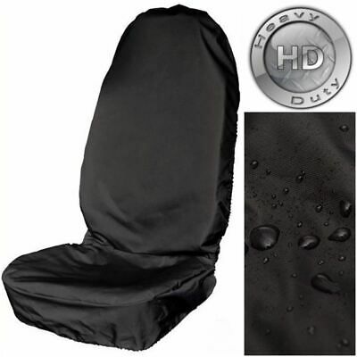 Waterproof Extra Heavy Duty Single Front Seat Cover for Vauxhall Astra