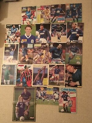 SHOOT Football Magazine Everton Player Posters Pictures
