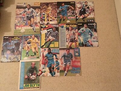 SHOOT Football Magazine Coventry City Player Posters Pictures Regis