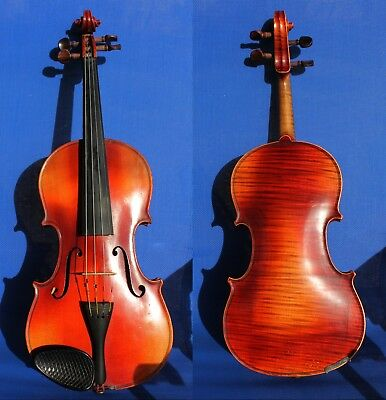4/4 FULL SIZE Interesting Czech Old VIOLIN coming from 1920years