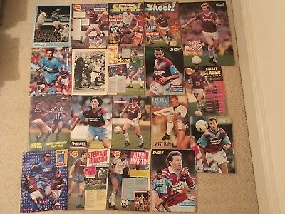 SHOOT Football Magazine West Ham United Player Posters Pictures