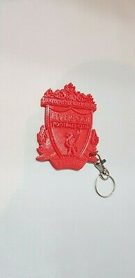 Liverpool FC Logo Plastic Keyring The Reds Football Club Gift 9cm