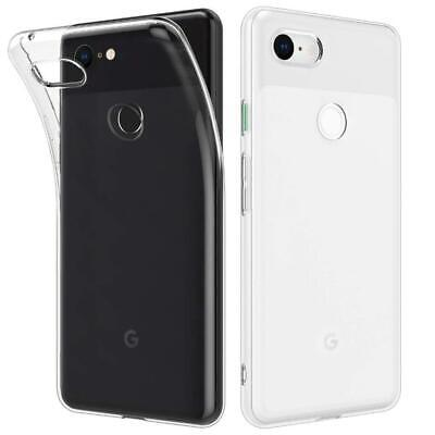 Google Pixel 3 XL Transparent Case Crystal Clear Soft Thin Flexible TPU Cover