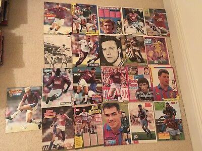 SHOOT Football Magazine,Aston Villa Player Posters Pictures