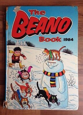 THE BEANO ANNUAL 1984 - Vintage Beano Comic Book Annual - Dennis The Menace