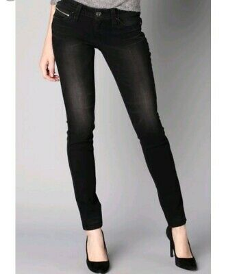 enjoy discount price search for latest best supplier LEVIS REVEL LOW Rise Demi Curve Skinny Black Jeans w27 l32