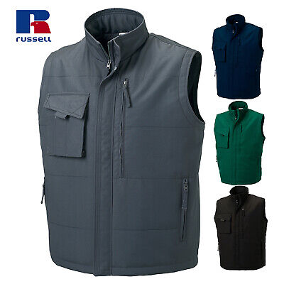 Russell Men's Heavy Duty Work Outdoor Gilet Warm Winter Bodywarmer Vest XS - 4XL