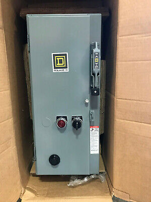 SQUARE D - SIZE 0 - 5HP 480V 3Ph -COMBINATION MOTOR STARTER 8538SBG**  **NEW**