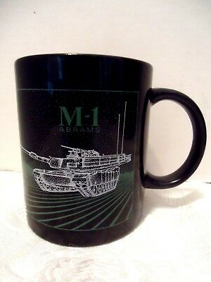 Military M1 Tank Gowen Field Idaho Black Coffee Mug Cup Air Army National Guard