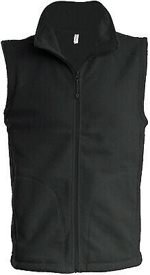 Kariban Unisex Anti Pill Fleece Gilet Warm Winter Lightweight Bodywarmer New