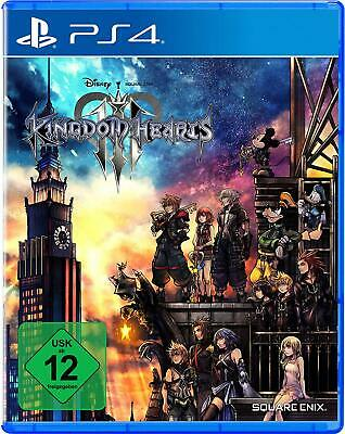 Kingdom Hearts III 3 Disney Sony PS4.