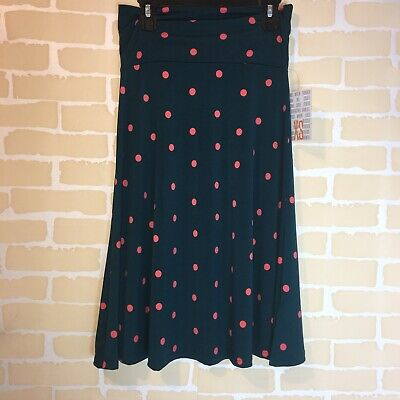 Clothing, Shoes & Accessories Beautiful Nwt Lularoe Azure Skirt A-line Skirt Flairs At Bottom Llr Small Beautiful Print!