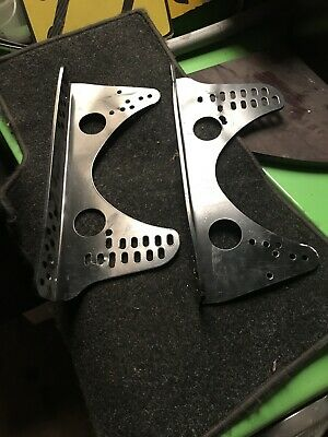 Race/Bucket Seat Side Mounting Brackets, Super Light Track Day Omp Kit Car